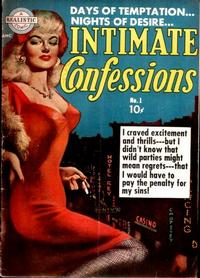 Cover Thumbnail for Intimate Confessions (Avon, 1951 series) #1