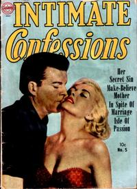 Cover Thumbnail for Intimate Confessions (Avon, 1951 series) #5