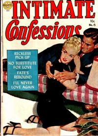 Cover Thumbnail for Intimate Confessions (Avon, 1951 series) #6