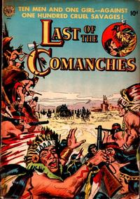 Cover Thumbnail for Last of the Comanches (Avon, 1953 series)
