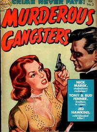 Cover Thumbnail for Murderous Gangsters (Avon, 1951 series) #3