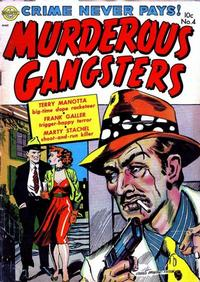 Cover Thumbnail for Murderous Gangsters (Avon, 1951 series) #4