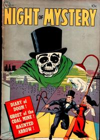 Cover Thumbnail for Night of Mystery (Avon, 1953 series)