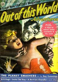 Cover for Out of This World Adventures (Avon, 1950 series) #1