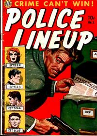 Cover Thumbnail for Police Line-Up (Avon, 1951 series) #1