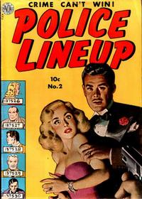 Cover Thumbnail for Police Line-Up (Avon, 1951 series) #2