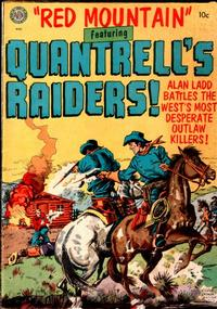 Cover Thumbnail for Red Mountain Featuring Quantrell's Raiders (Avon, 1952 series)