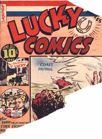 Cover Thumbnail for Lucky Comics (Maple Leaf Publishing, 1941 series) #v1#8