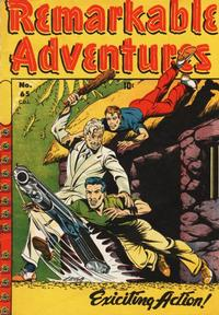 Cover Thumbnail for Remarkable Adventures (Bell Features, 1948 series) #65