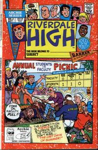 Cover Thumbnail for Riverdale High (Archie, 1990 series) #2