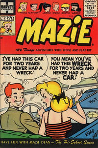Cover Thumbnail for Mazie (Harvey, 1955 series) #18