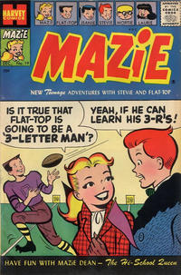 Cover Thumbnail for Mazie (Harvey, 1955 series) #19