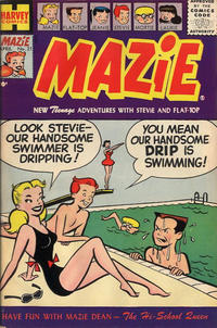 Cover Thumbnail for Mazie (Harvey, 1955 series) #21