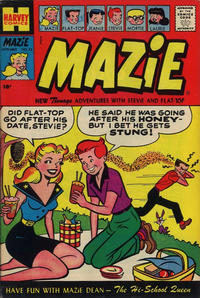 Cover Thumbnail for Mazie (Harvey, 1955 series) #22