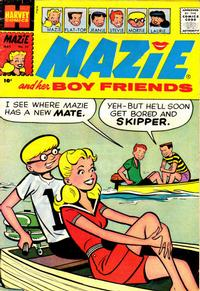 Cover Thumbnail for Mazie (Harvey, 1955 series) #27