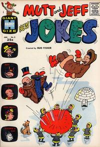 Cover Thumbnail for Mutt & Jeff New Jokes (Harvey, 1963 series) #2