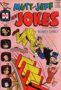 Cover Thumbnail for Mutt & Jeff New Jokes (Harvey, 1963 series) #3