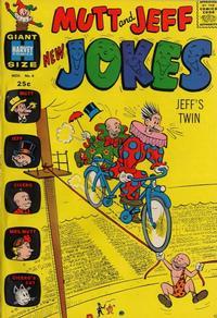 Cover Thumbnail for Mutt & Jeff New Jokes (Harvey, 1963 series) #4