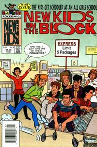 Cover Thumbnail for The New Kids on the Block: NKOTB (Harvey, 1990 series) #6
