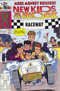 Cover Thumbnail for The New Kids on the Block: NKOTB (Harvey, 1990 series) #8