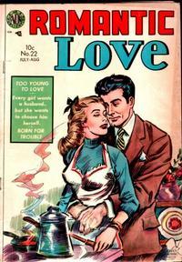 Cover Thumbnail for Romantic Love (Avon, 1954 series) #22