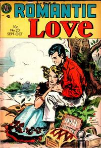 Cover Thumbnail for Romantic Love (Avon, 1954 series) #23