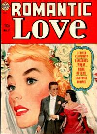 Cover for Romantic Love (Avon, 1949 series) #7