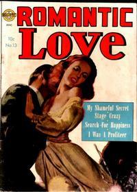 Cover Thumbnail for Romantic Love (Avon, 1949 series) #13