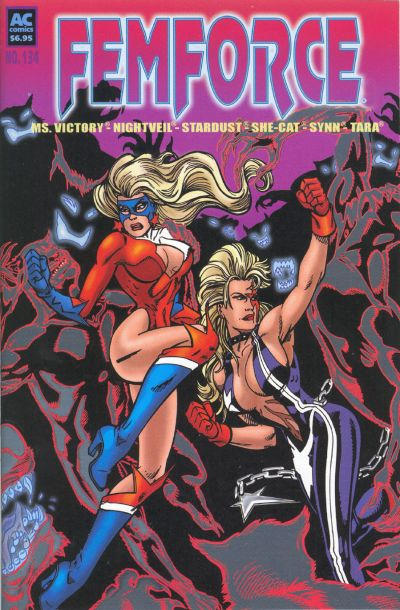 Cover for FemForce (AC, 1985 series) #134