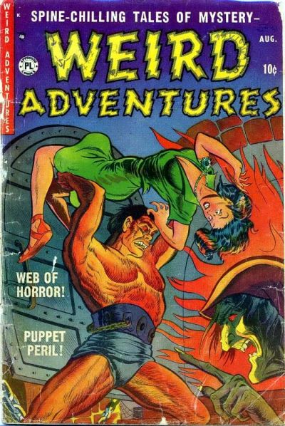Cover for Weird Adventures (P.L. Publishing, 1951 series) #2