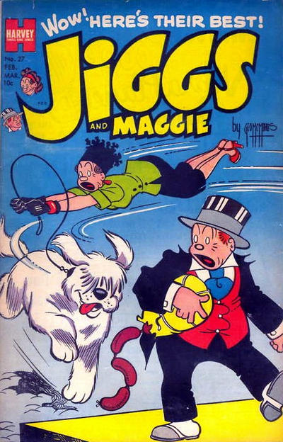 Cover for Jiggs & Maggie (Harvey, 1953 series) #27