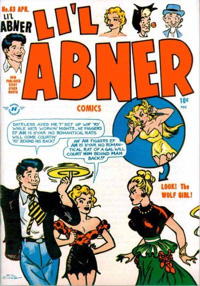 Cover for Li'l Abner Comics (Harvey, 1947 series) #63