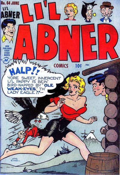 Cover for Li'l Abner Comics (Harvey, 1947 series) #64