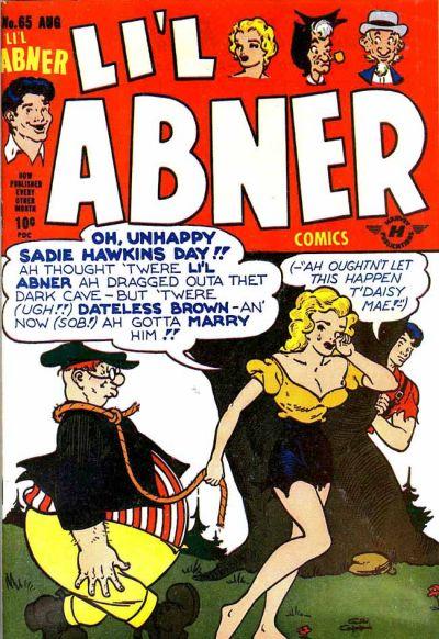 Cover for Li'l Abner Comics (Harvey, 1947 series) #65 (5)
