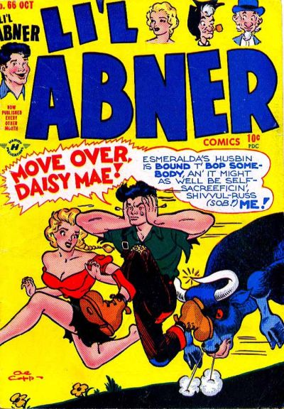 Cover for Li'l Abner Comics (Harvey, 1947 series) #v2#6 (66)