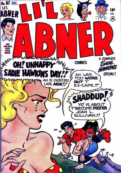 Cover for Li'l Abner Comics (Harvey, 1947 series) #v2#7 (67)