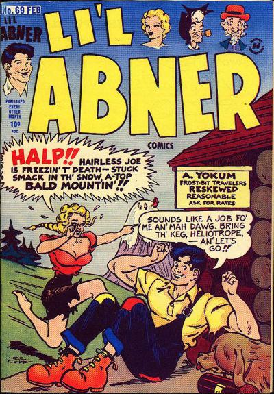 Cover for Li'l Abner Comics (Harvey, 1947 series) #v2#9 (69)