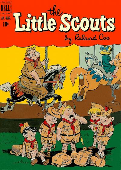Cover for Little Scouts (Dell, 1951 series) #3