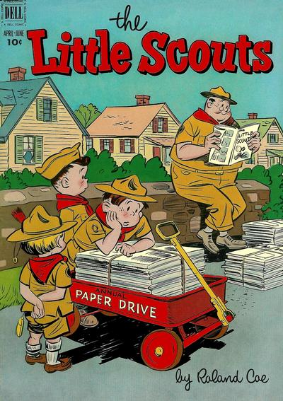 Cover for Little Scouts (Dell, 1951 series) #4