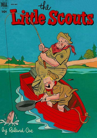 Cover for Little Scouts (Dell, 1951 series) #6