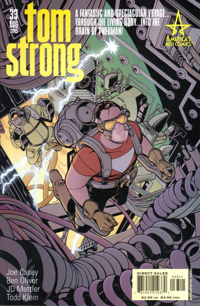 Cover for Tom Strong (DC, 1999 series) #33