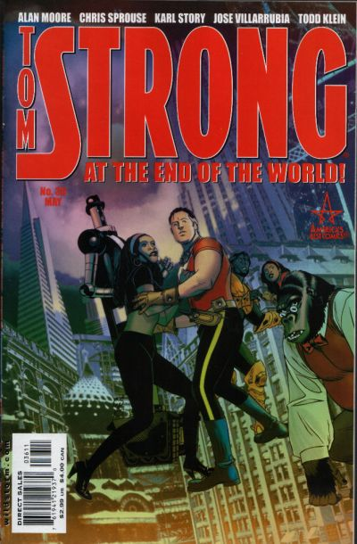 Cover for Tom Strong (DC, 1999 series) #36