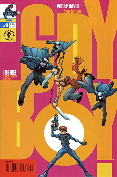 Cover for SpyBoy (Dark Horse, 1999 series) #2