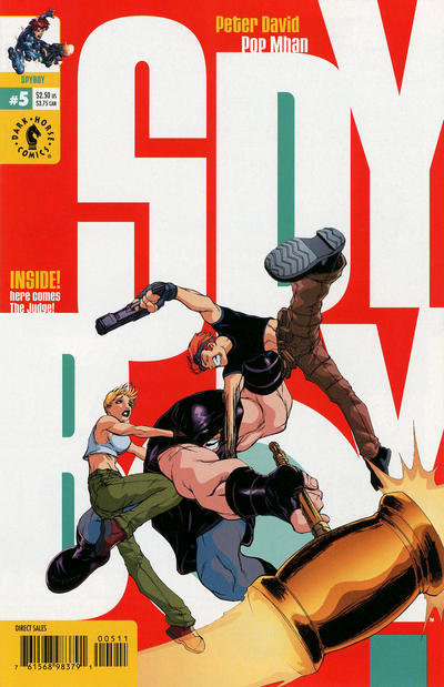 Cover for SpyBoy (Dark Horse, 1999 series) #5