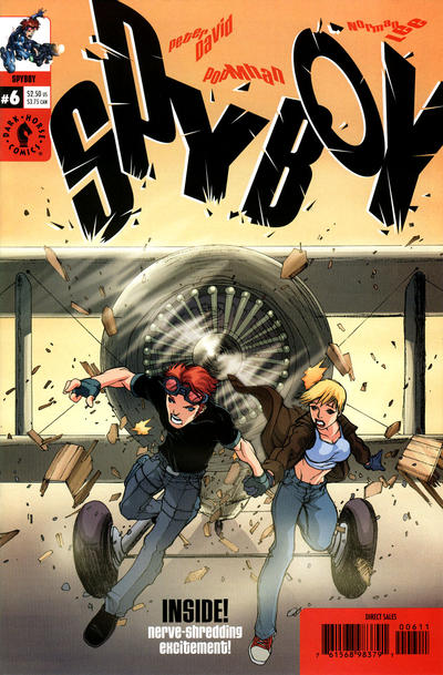 Cover for SpyBoy (Dark Horse, 1999 series) #6