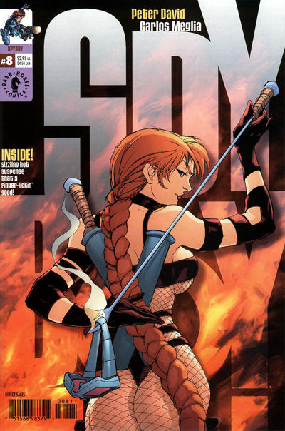 Cover for SpyBoy (Dark Horse, 1999 series) #8