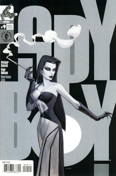 Cover for SpyBoy (Dark Horse, 1999 series) #9