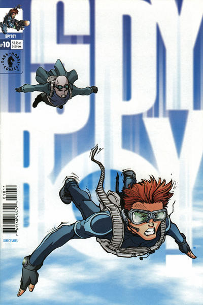 Cover for SpyBoy (Dark Horse, 1999 series) #10