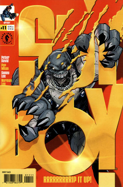 Cover for SpyBoy (Dark Horse, 1999 series) #11