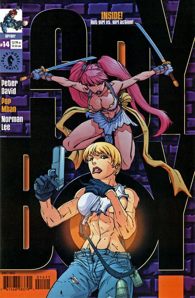 Cover for SpyBoy (Dark Horse, 1999 series) #14